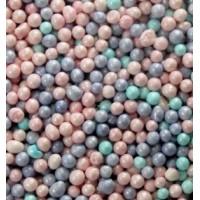 Посыпка кондитерская - Шарики голубые, лиловые, розовые перламутровые, 1кг. (20219)