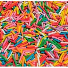 Посыпка кондитерская - Вермишель разноцветная МИКС №1, 50гр. (ipDE.mix00157/p)