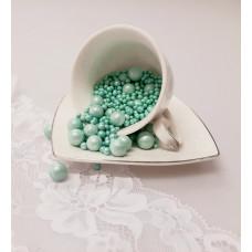 """Сахарные бусинки - """"Зеленые Микс"""", 50гр. (50/3/5/10)"""