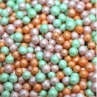 "Сахарные бусинки - ""Майский"", 5мм. 50гр. (50/152040)"