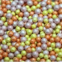 """Сахарные бусинки - """"Карамель"""", 5мм. 50гр. (50/152039)"""