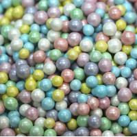 """Сахарные бусинки - """"Радужный"""", 5мм. 50гр. (50/152034)"""