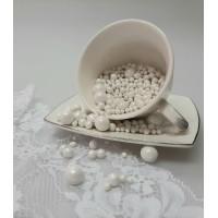 "Сахарные бусинки - ""Белые Микс"", 50гр. (50/3/5/10)"