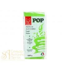 """Сахарная Мастика универсальная для торта """"Modecor POP"""" - Зеленая, 1кг. (25474/p)"""