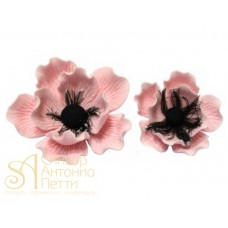 "Цветы из мастики - ""Анемона малая"", Розовая (11054*BS/p)"