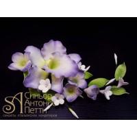 """Цветы из мастики - """"Букет орхидей"""", Лиловый (11176*V/p)"""