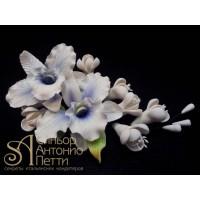 Цветы из мастики - Букет орхидей (11188i/p)