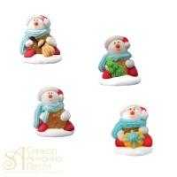 Сахарная фигурка - Снеговик (14025*R/p)