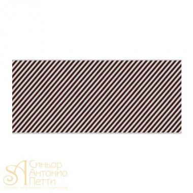 Бордюрная лента с рисунком - Линии, 40мм. 550м. 40мкр. (NSAH 40 Линии_550)