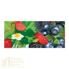 Бордюрная лента с рисунком - Лесная ягода, 50мм. 550м. 40мкр. (NSAH 50 Лесная ягода_550)