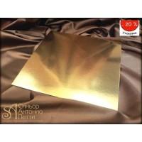 Прямоугольные золотые подложки, 30*40см., 50шт. (Plate 30*40)
