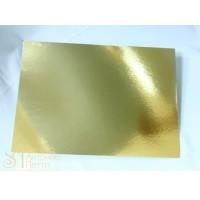 Прямоугольная золотая подложка, 30*40см. (Plate 30*40/р)