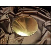 Круглая золотая подложка, 32см. (Plate 32/р)