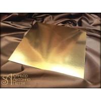 Квадратная золотая подложка, 36*36см. (Plate 36*36/р)