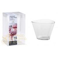 Пластиковый стаканчик - Треугольный, 175мл. 18шт. (PMO 071800)