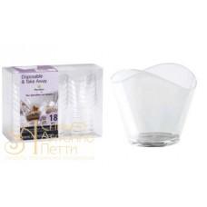 Пластиковый стаканчик - Волна, 50мл. 18шт. (PMOCE 0011800)