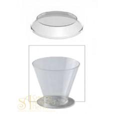 Пластиковые крышки - Круглые для PMOCO003, 100шт. (PMOCO 003/C)