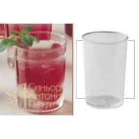 Пластиковый стаканчик - Круглый, 120мл. 100шт. (PMOTO 003)