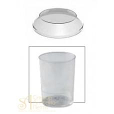 Пластиковые крышки - Круглые для PMOTO004, 100шт. (PMOTO 004/C)