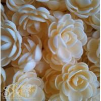 Вафельные цветы - Розы малые сложные, Чайные, 80шт. (13026RM)