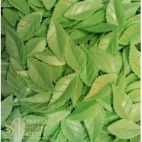 Вафельный листья - Лист розы, Зеленый, 1000шт. (13925)