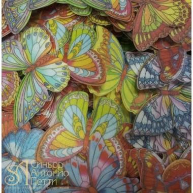 Вафельные Бабочки - Микс, 1080шт. (13022R)
