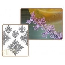 Рельефный силиконовый коврик для создания кружев - Декор, 30*40см. (40-WD006)