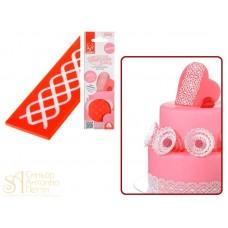 Рельефный резиновый коврик Modecor Sweet Lace - Berlino, 4*16,5см. (31204)