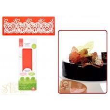 Рельефный силиконовый коврик для изомальта - Любовь (31227)