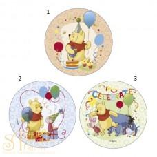 Вафельная пластина - Винни Пух, 14,5см. (70409/p)