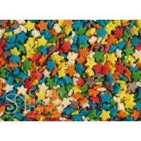 Посыпка кондитерская - Звезды разноцветные мини, 0.75кг. (ipSH.2814)