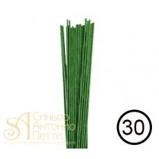 Кондитерская проволока №30 - Зеленая, 50шт. (40-1390G)