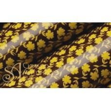 Переводные листы для шоколада, 30*40см. - Желтые цветы, 12шт. (81468*R)