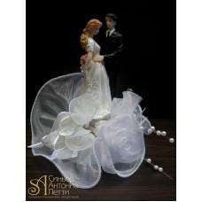 Свадебная фигурка - Свадебная пара (28291rN/p)