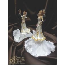 Свадебная фигурка - Свадебная пара (28341rN/p)