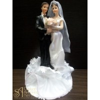 Свадебная фигурка - Свадебная пара (28376rN/p)