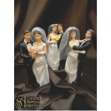 Свадебная фигурка - Свадебная пара (28379/p)