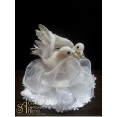 Свадебная фигурка - Пара голубей (28387/p)