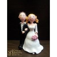 Свадебная фигурка - Свадебная пара (28972/p)
