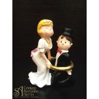 Свадебная фигурка - Свадебная пара (28974/р)