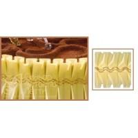 Лента с золотым переплетением - Желтая, 10м. (24192*E/p)