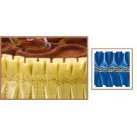 Лента с золотым переплетением - Синяя, 10м. (24192*K/p)