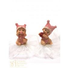 Фигурка новорожденного, розовая (26181*B/p)