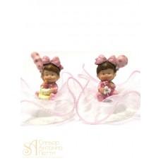 Фигурка новорожденного, розовая (26182*B/p)