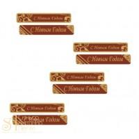 Формы с переводным рисунком для шоколада - Поздравительная вставка, 120шт. (33792)