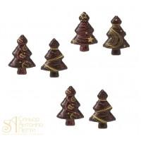 Формы с переводным рисунком для шоколада - Ель, 80шт. (34343)