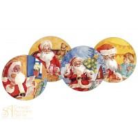Вафельная пластина - Новый Год, 22см. (14426/p)