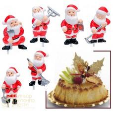 Пластиковая фигурка - Дед Мороз с инструментом (14335/p)