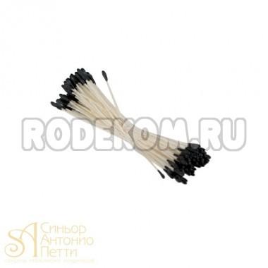Тычинки для цветов - Черные, 144шт. (40-W122)