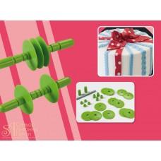 Набор пластиковых резаков для мастики, 12шт. (40-WA001)